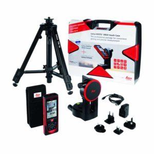 متر لیزری Leica مدل D810 Touch Pro Pack