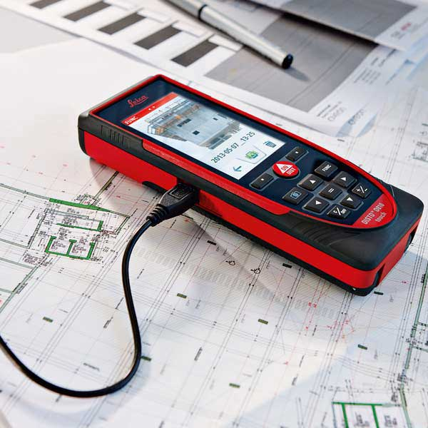 متر لیزری حرفه ای D810 Touch لایکا