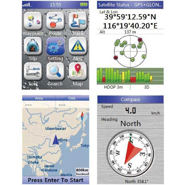 گیرنده GPS دستی BHCnav مدل NAVA F30
