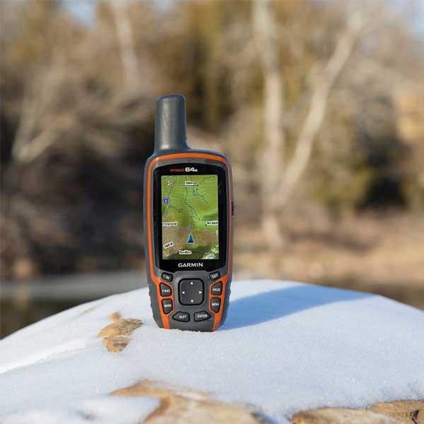 گیرنده GPS دستی Garmin مدل GPSMAP 64s