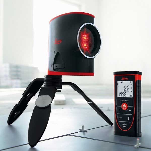 Leica D210 Disto and L2 Laser Level package