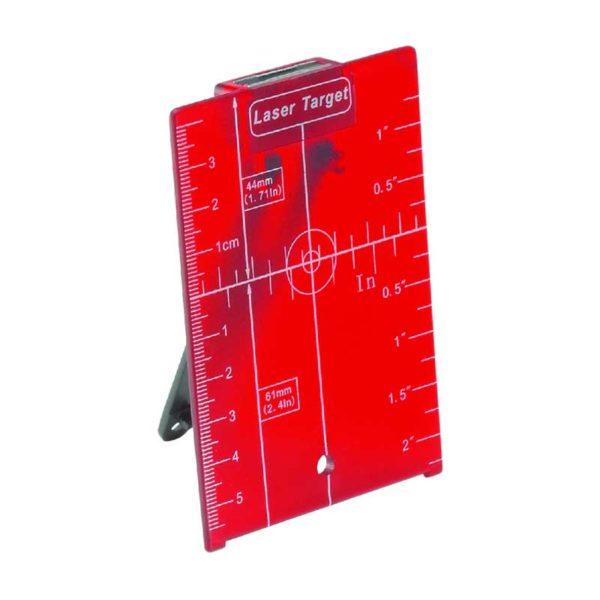 صفحه تارگت لیزر قرمز رنگ لایکا