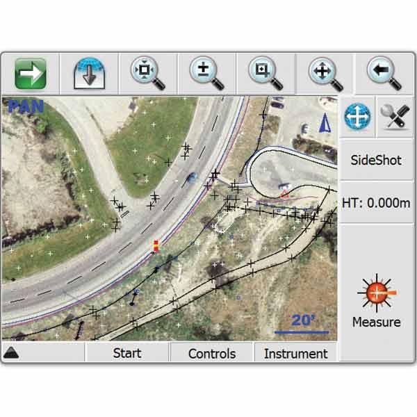 نرم افزار نقشه برداری Microsurvey FieldGenius