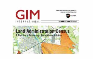 مجله نقشه برداری GIM مه و ژوئن 2019