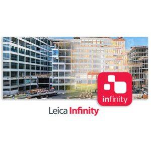 نرم افزار نقشه برداری Leica Infinity