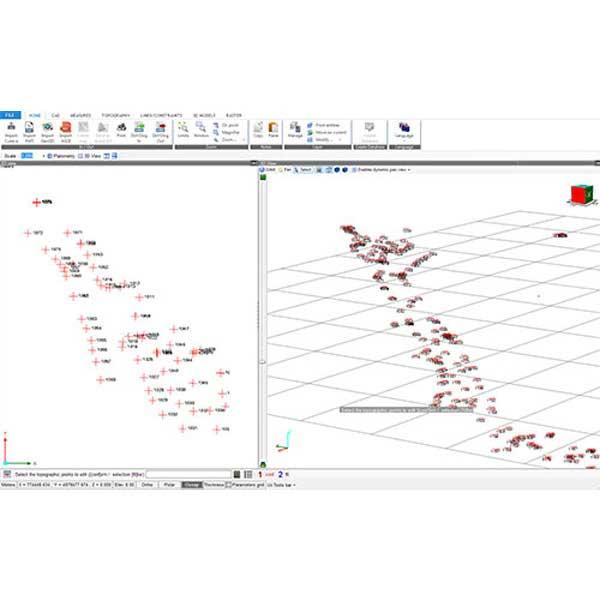 نرم افزار مدیریت داده های توتال استیشن و GPS استونکس