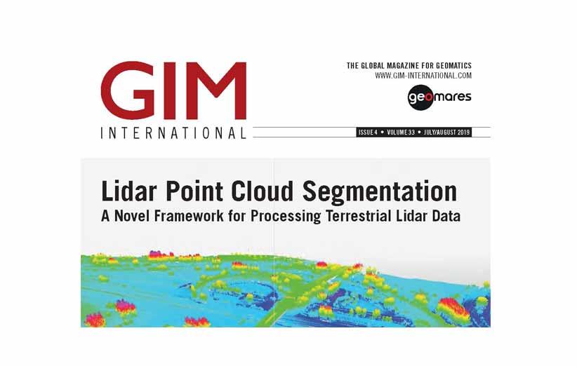 مجله نقشه برداری GIM جولای و آگوست 2019