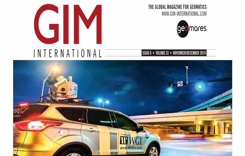 مجله نقشه برداری GIM نوامبر و دسامبر 2019