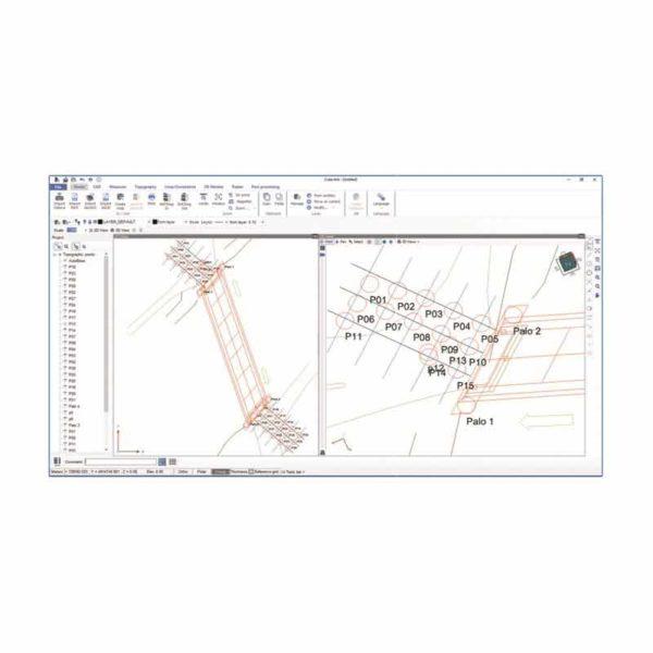 نرم افزار نقشه برداری استونکس Cube-manager
