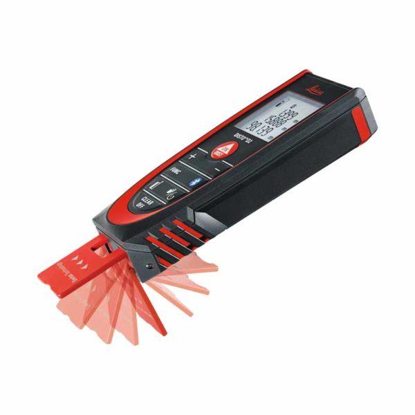 متر لیزری لایکا D2 new با باتری و شارژر