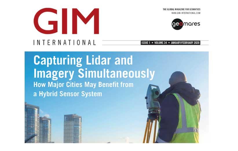 مجله نقشه برداری GIM ژانویه و فوریه 2020