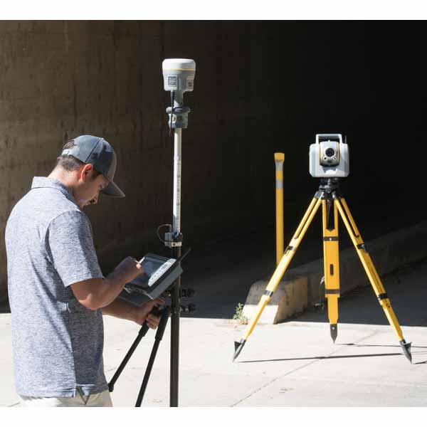 توتال استیشن رباتیک و اسکنر لیزری پیشرفته Trimble مدل SX10