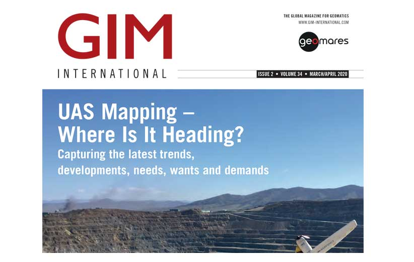 مجله نقشه برداری GIM مارس و آوریل 2020