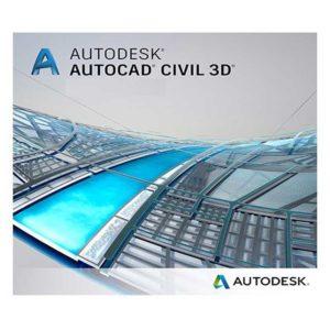 نرم افزار نقشه برداری Autodesk AutoCAD Civil 3D