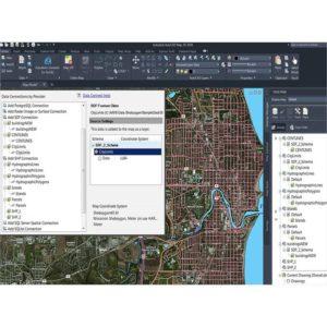 نرم افزار نقشه برداری Autodesk AutoCAD Map 3D