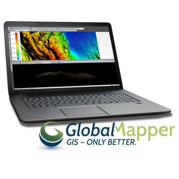 نرم افزار نقشه برداری Global Mapper