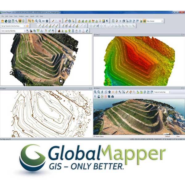 نرم افزار نقشه برداری گلوبال مپر