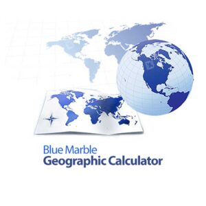 نرم افزار نقشه برداری Geographic Calculator