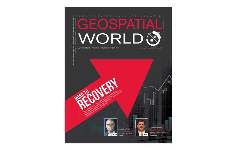 مجله نقشه برداری Geospatial World