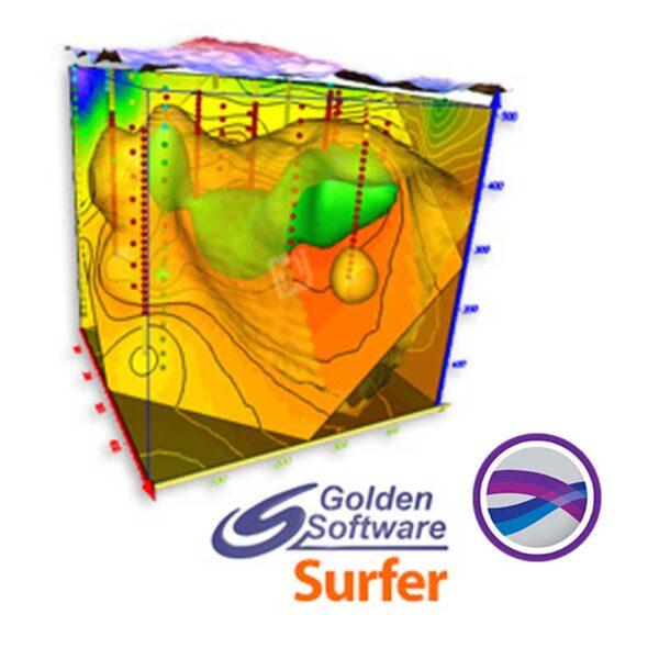 نرم افزار نقشه برداری Golden Software Surfer