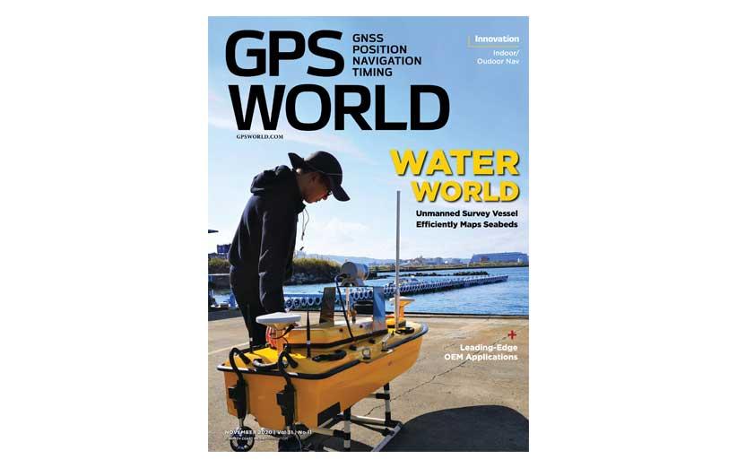 مجله نقشه برداری GPS World