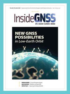 مجله نقشه برداری INSIDE GNSS November December 2020