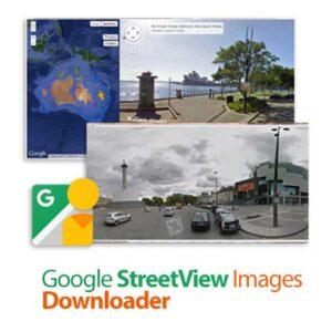 نرم افزار نقشه برداری Google StreetView Images Downloader