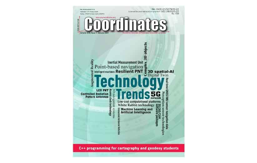 Coordinates Magazine January 2021