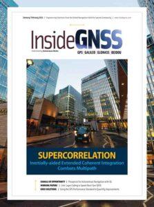 مجله نقشه برداری INSIDE GNSS January February 2021
