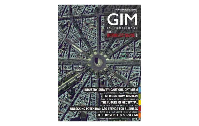 مجله نقشه برداری GIM International