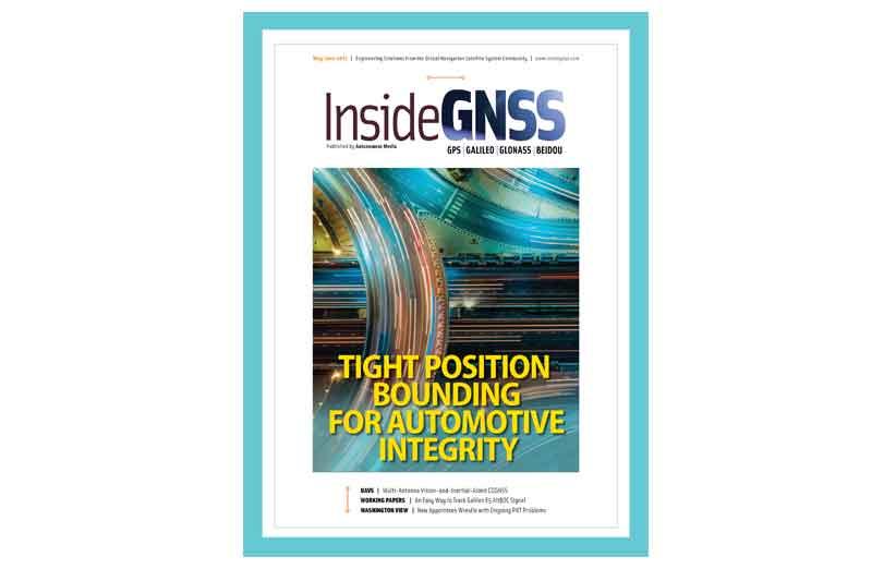 مجله نقشه برداری INSIDE GNSS March May-June 2021