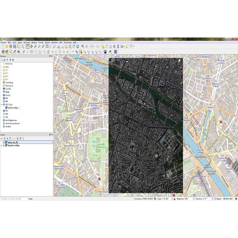 نرم افزار نقشه برداری Universal Maps Downloader