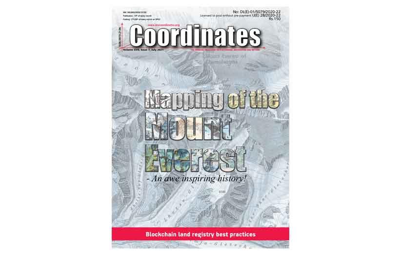 Coordinates Magazine July 2021
