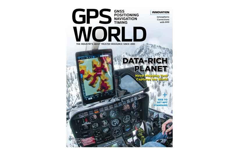 مجله نقشه برداری GPS World August 2021