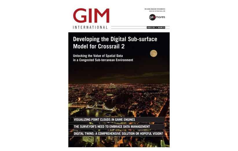 GIM International Magazine September-October 2021